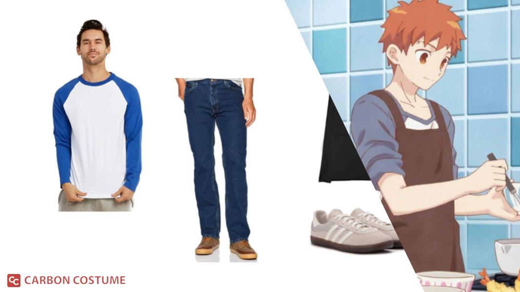 Shirou from Today's Menu for the Emiya Family Cosplay Tutorial