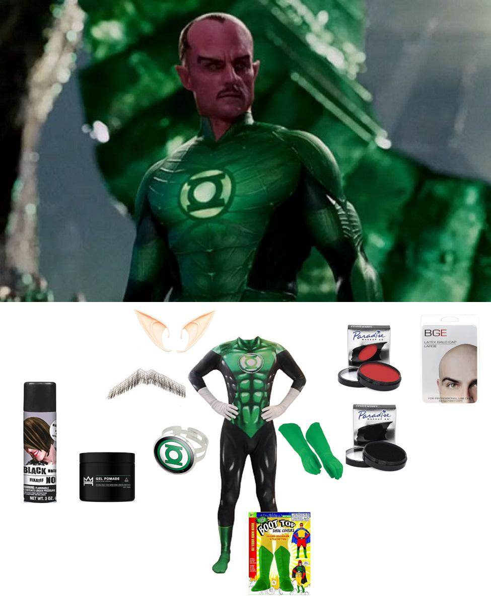 Sinestro from Green Lantern Cosplay Guide