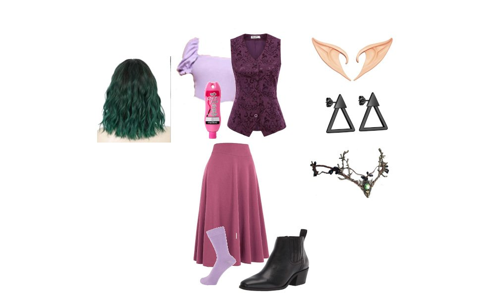 Amity Blight's Grom Outfit from The Owl House Costume