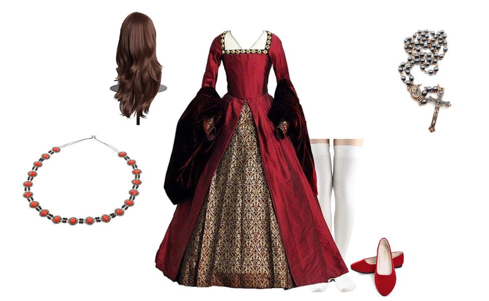 Mary Tudor from The Tudors Costume