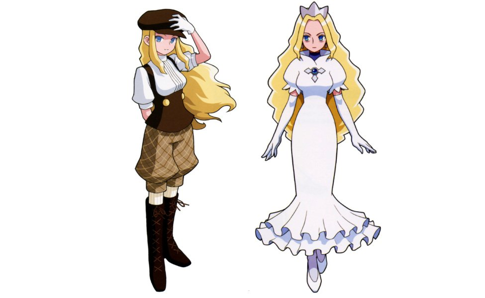 Princess Pride from Mega Man Battle Network