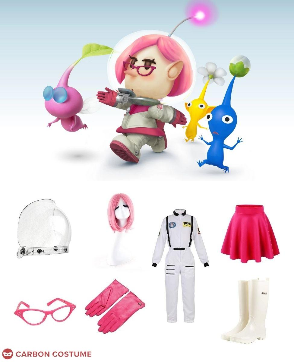 Brittany from Pikmin 3 Cosplay Guide