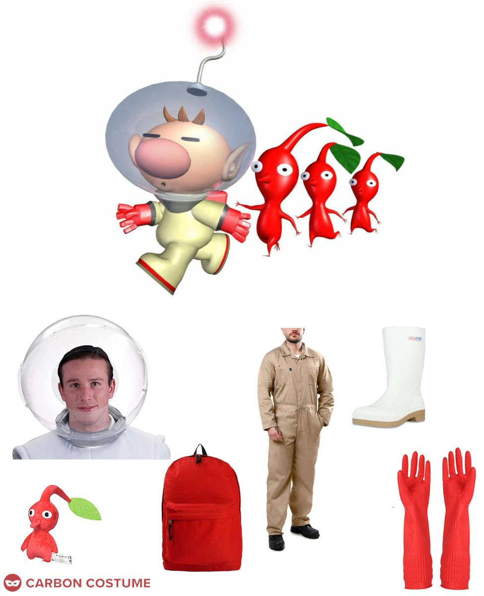 Captain Olimar from Pikmin Cosplay Guide