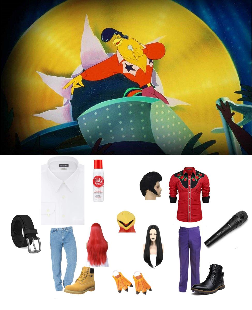 Chanticleer from Rock-a-Doodle Cosplay Guide