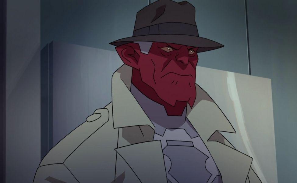 Damien Darkblood from Invincible