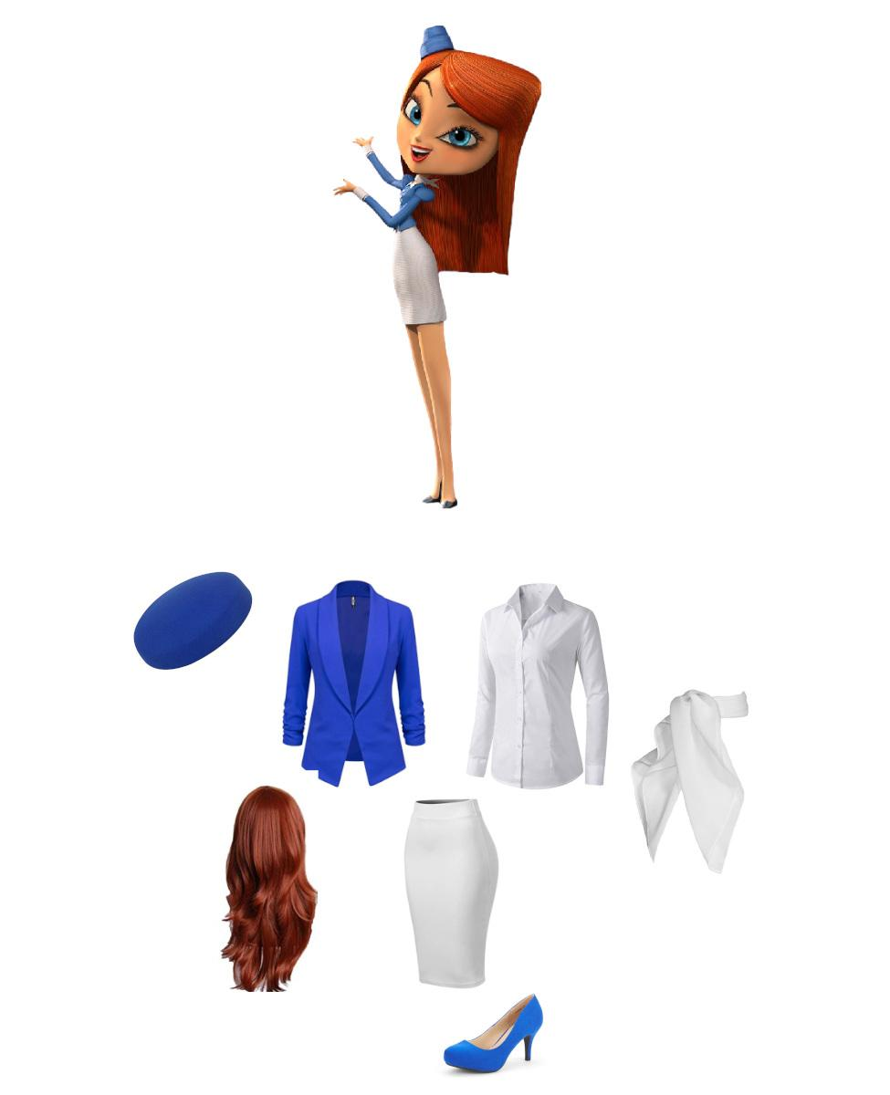 Mary Beth from The Book of Life Cosplay Guide
