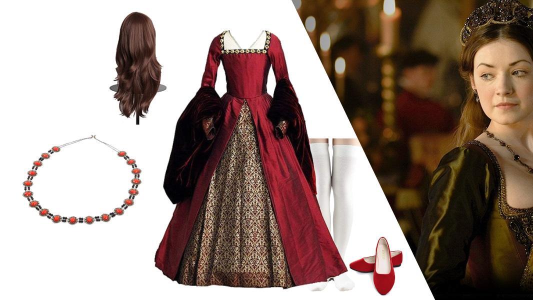 Mary Tudor from The Tudors Cosplay Tutorial
