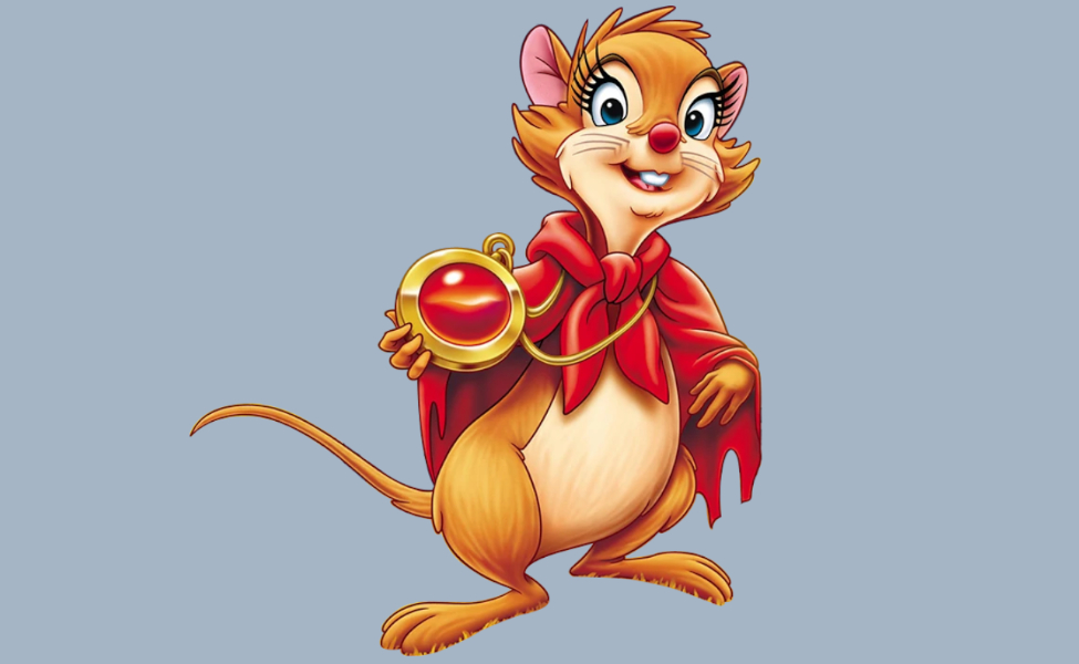 Mrs. Brisby from The Secret of NIMH