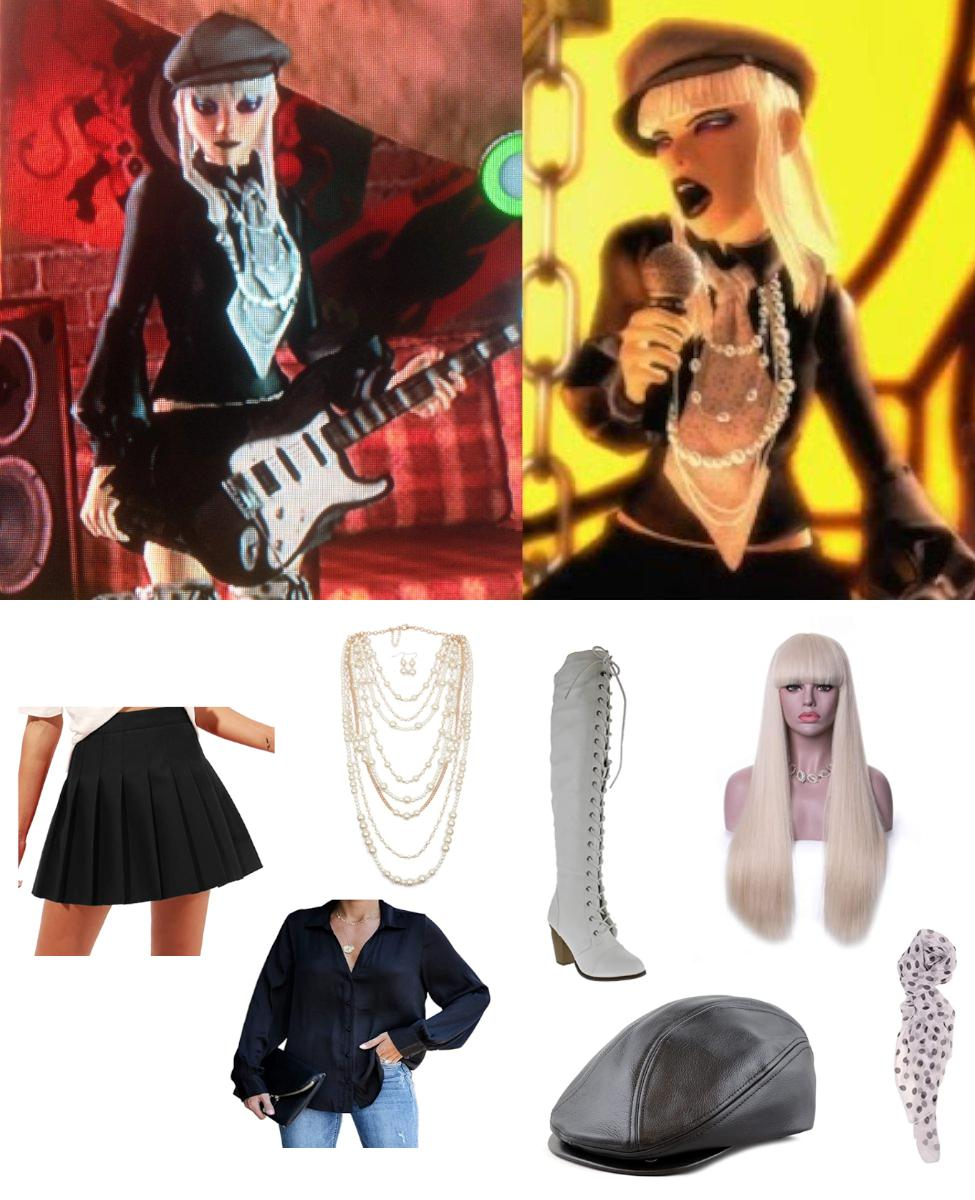 Penelope McQueen from Rock Band 2 Cosplay Guide