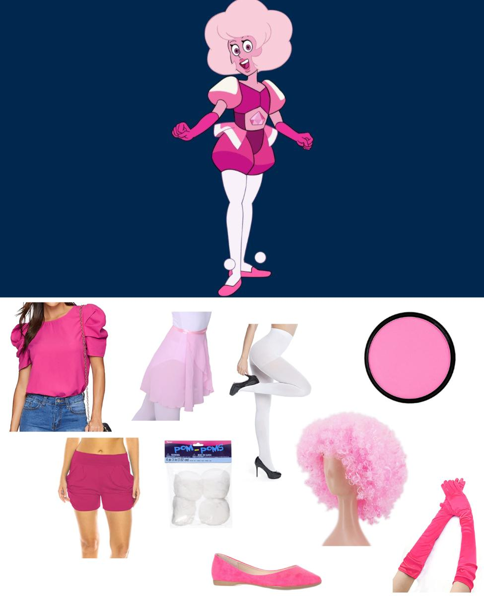 Pink Diamond from Steven Universe Cosplay Guide