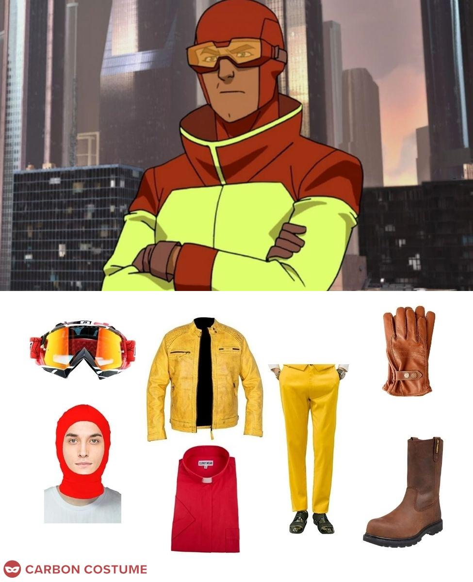 Rex Splode from Invincible Cosplay Guide