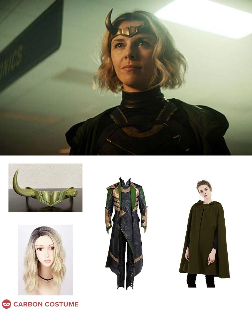 Sylvie from Loki Cosplay Guide