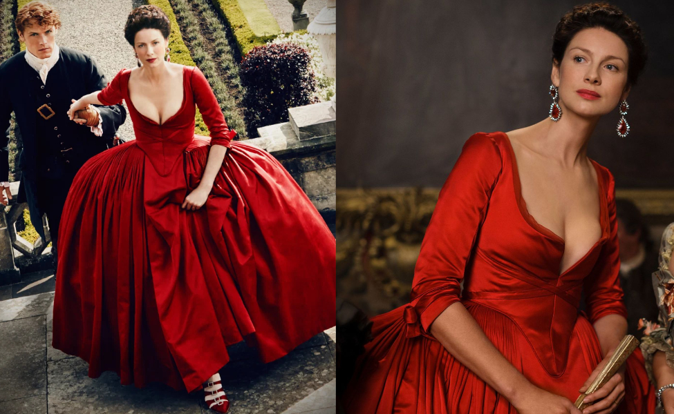 Claire Randall Fraser from Outlander Season 2