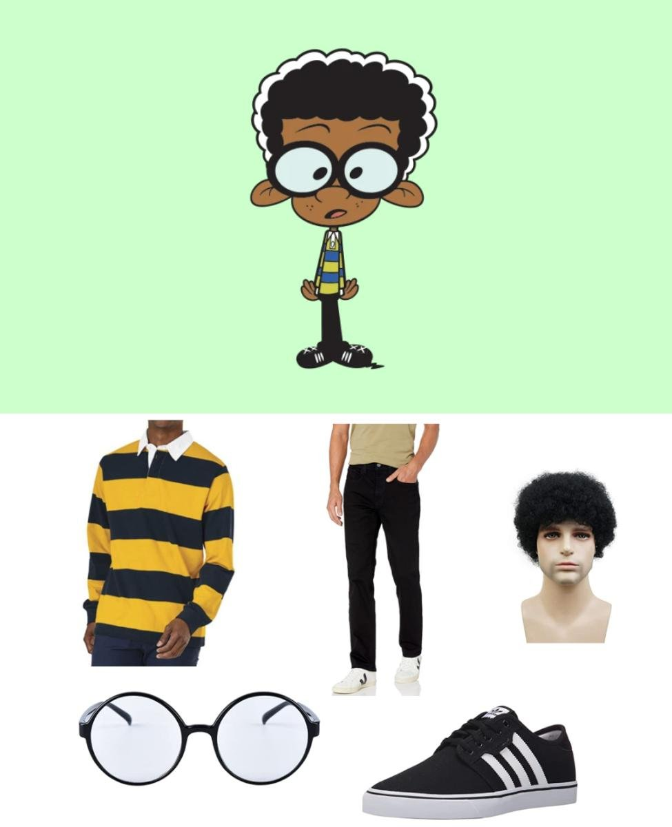 Clyde McBride from The Loud House Cosplay Guide