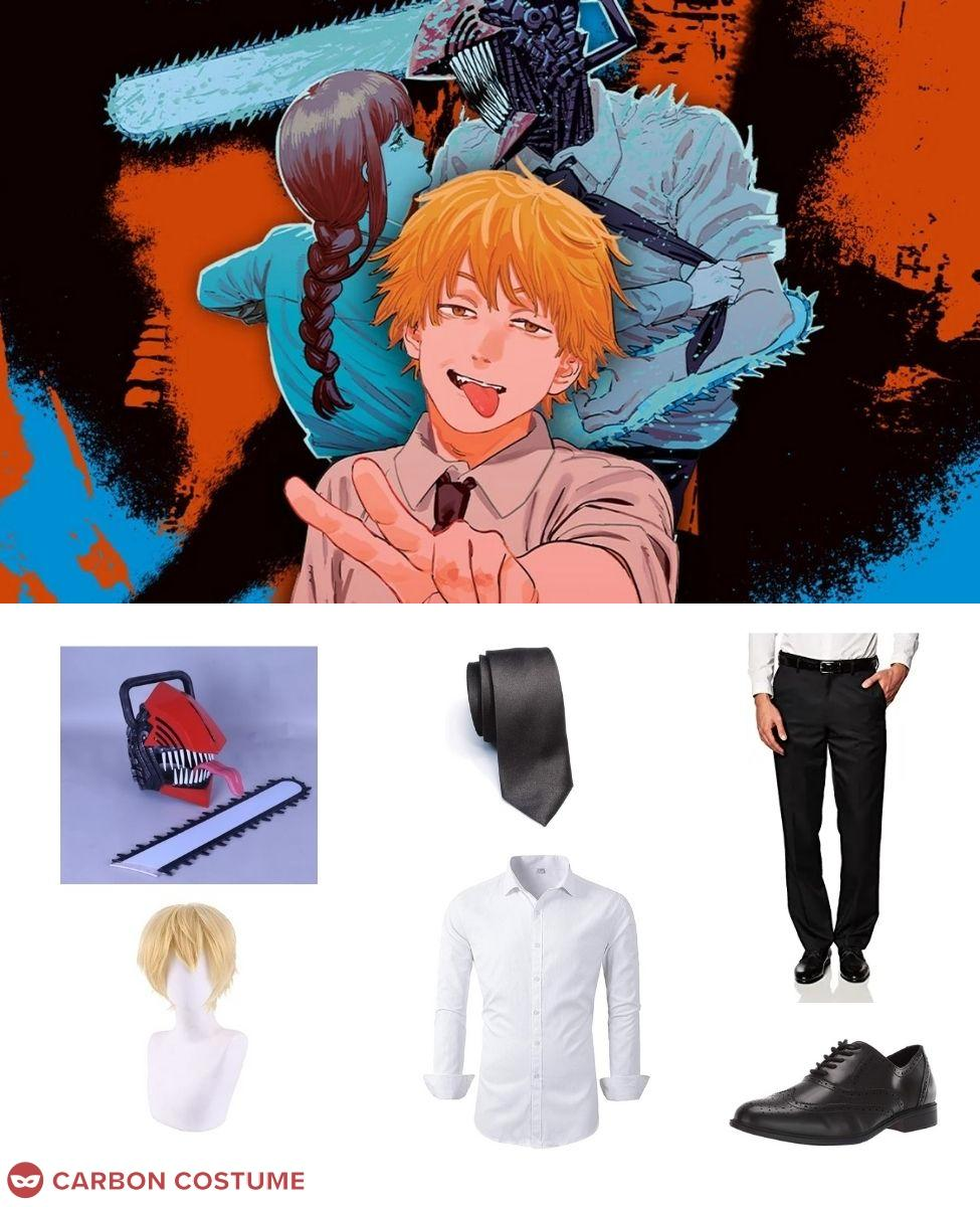 Denji from Chainsaw Man Cosplay Guide