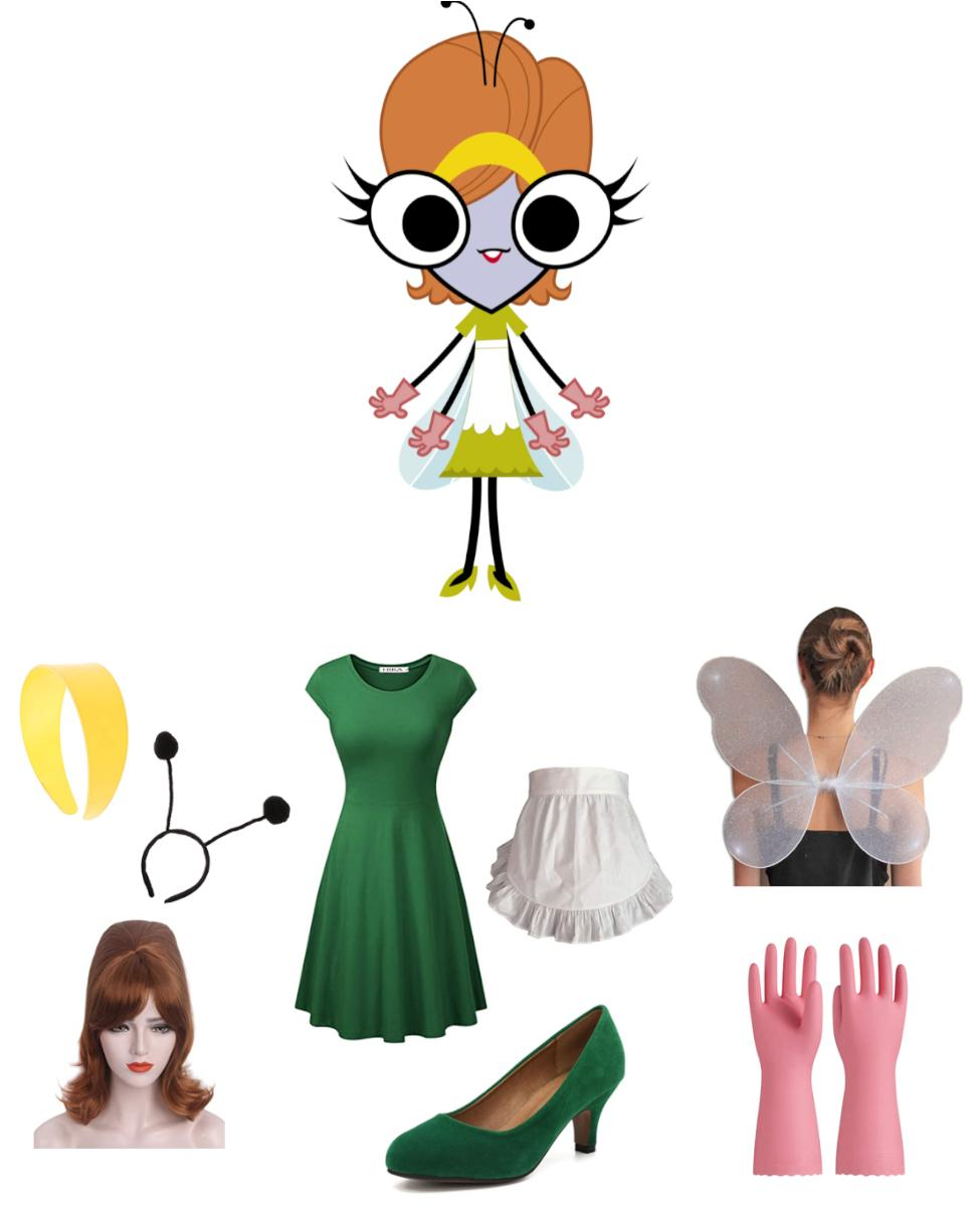 Frieda Pesky from the Buzz on Maggie Cosplay Guide