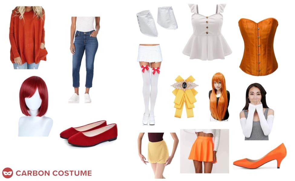 Akane Hino from Smile PreCure! Costume