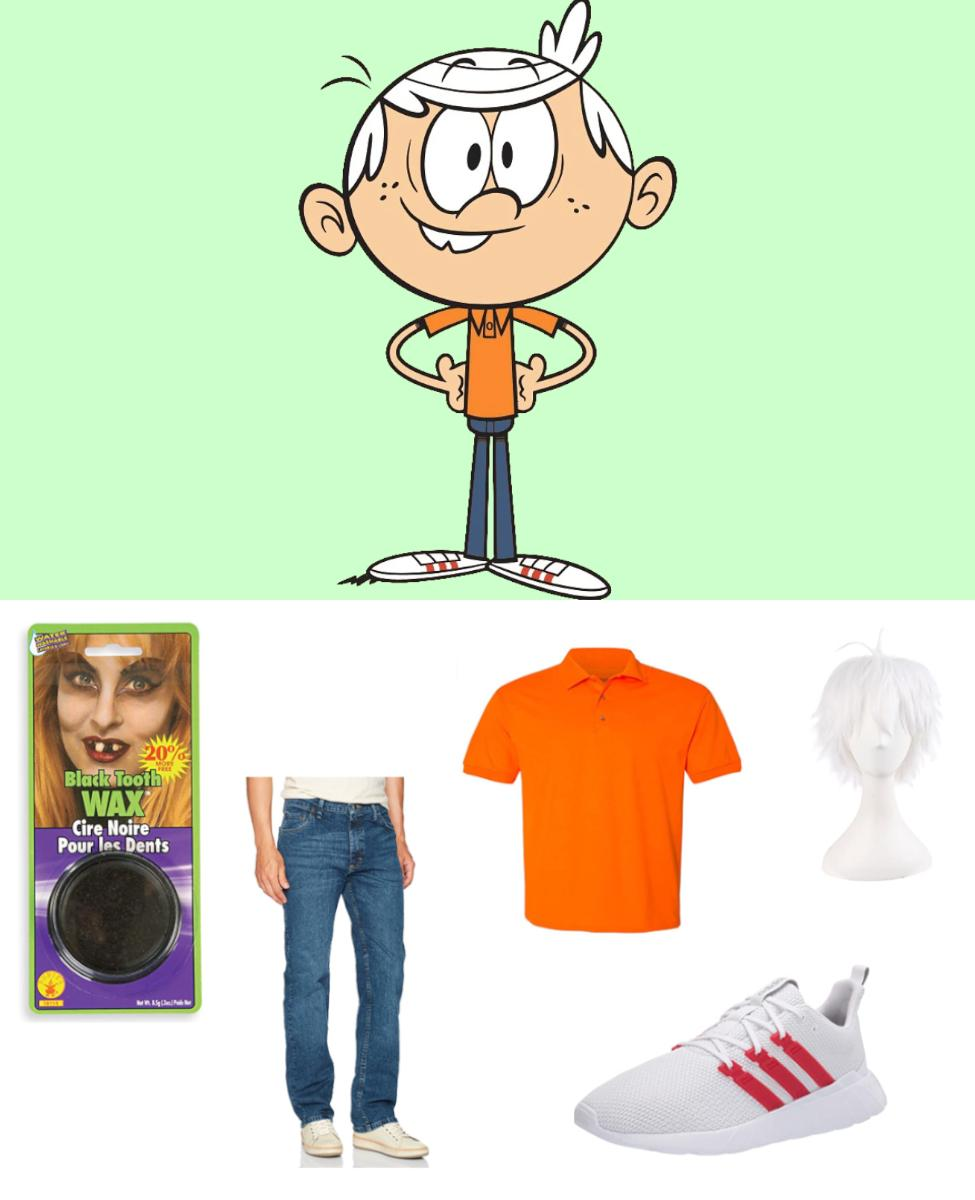Lincoln Loud from The Loud House Cosplay Guide