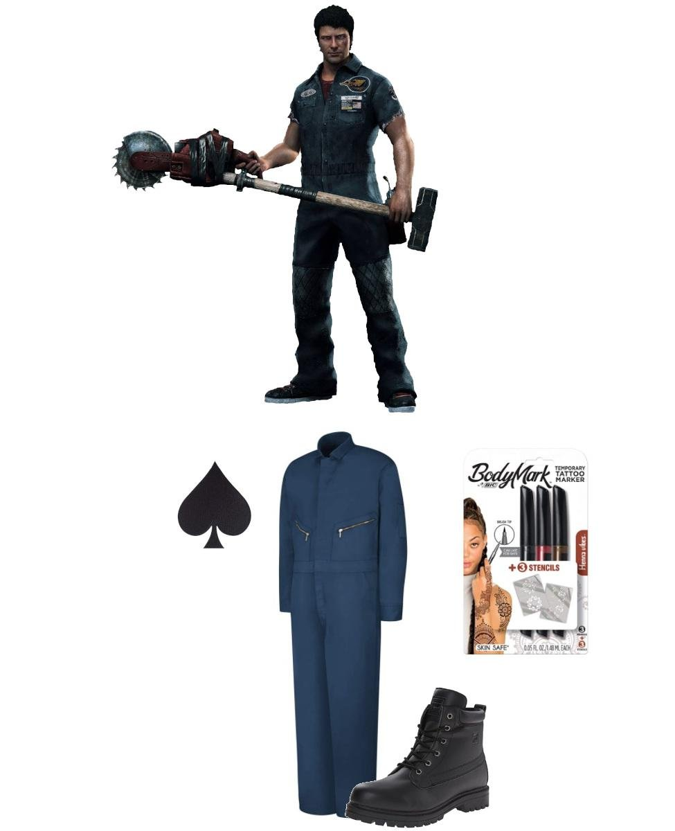 Nick Ramos from Dead Rising 3 Cosplay Guide