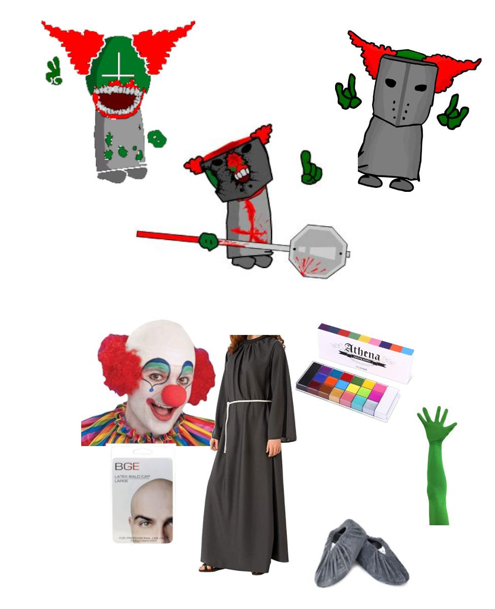 Tricky the Clown from Madness Combat Cosplay Guide