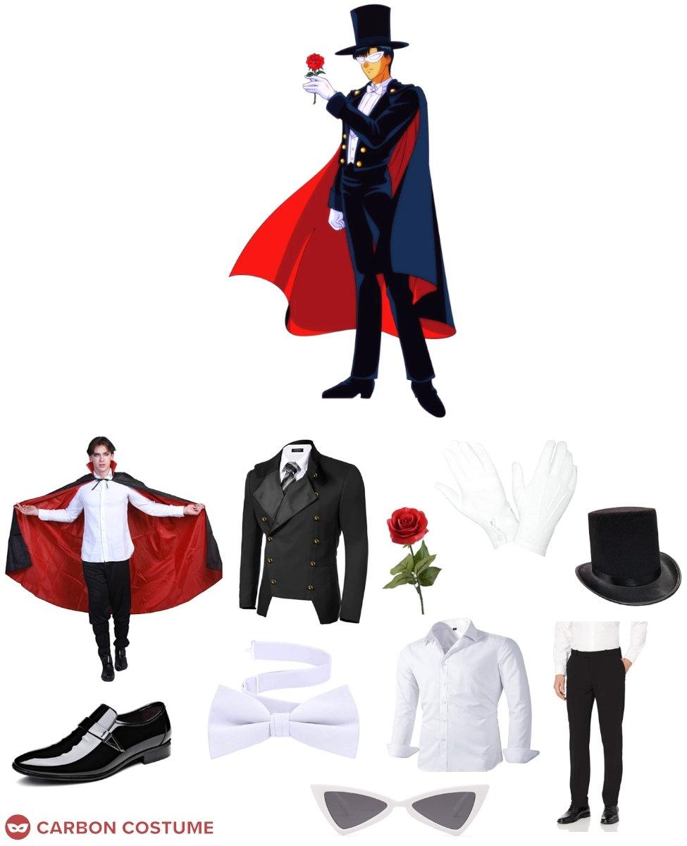 Tuxedo Mask from Sailor Moon Cosplay Guide