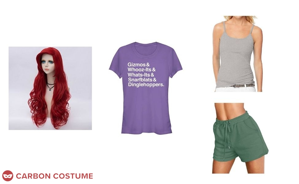 Ariel from Wreck-It Ralph 2 Costume