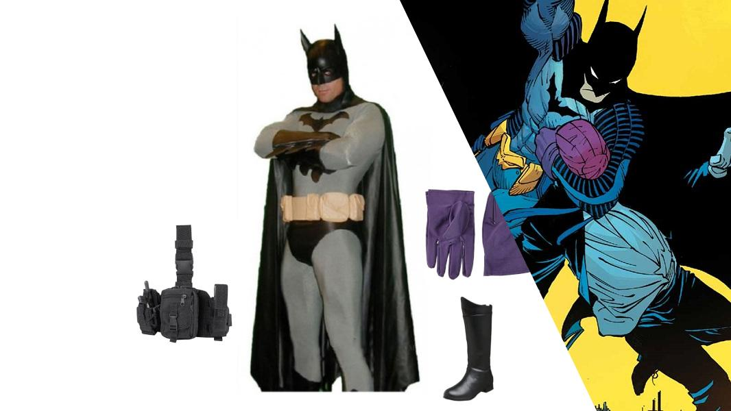 Batman from Zero Year Cosplay Tutorial