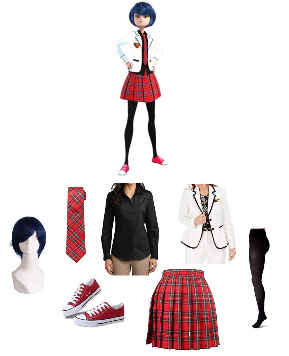 Kagami Tsurugi from Miraculous Ladybug Cosplay Guide