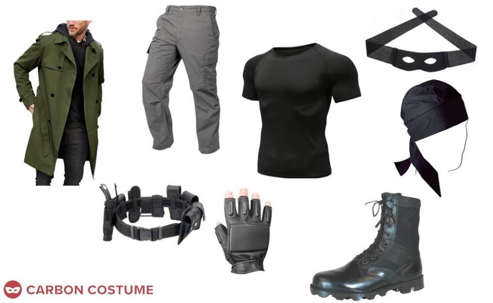 Knuckleduster from My Hero Academia: Vigilantes Costume