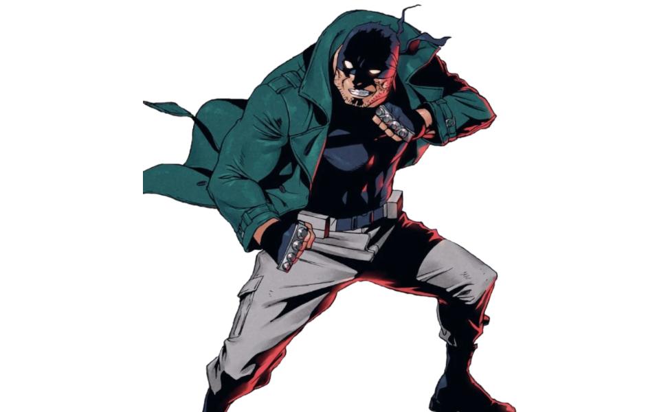 Knuckleduster from My Hero Academia: Vigilantes