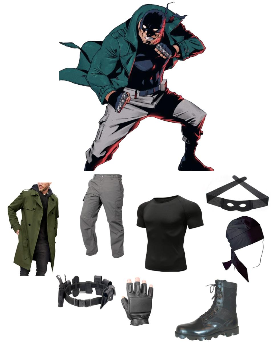 Knuckleduster from My Hero Academia: Vigilantes Cosplay Guide