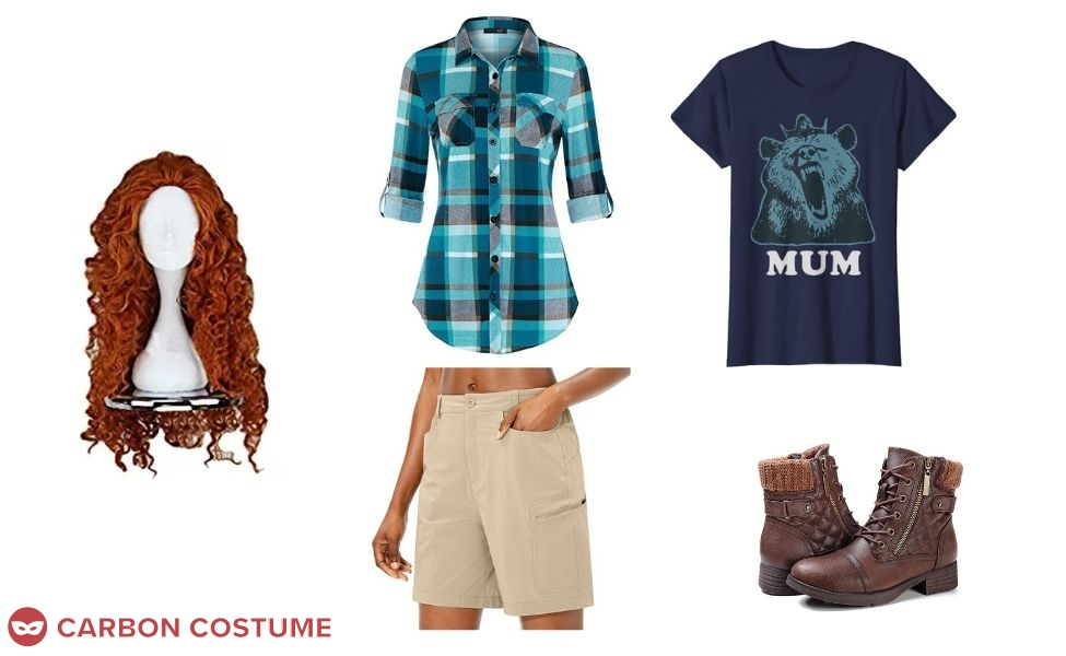 Merida from Wreck-It Ralph 2 Costume