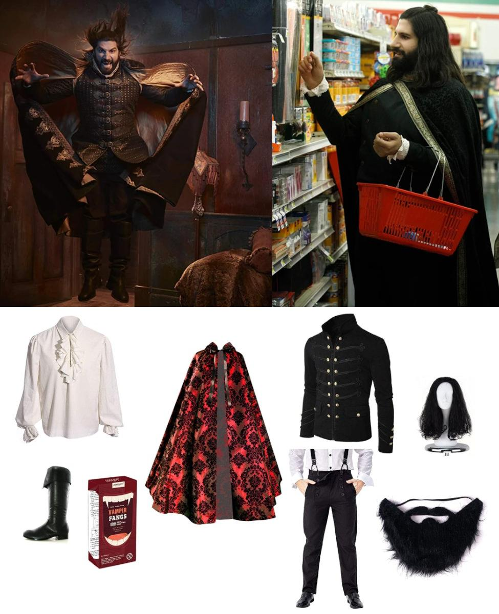 Nandor the Relentless from What We Do in the Shadows Cosplay Guide
