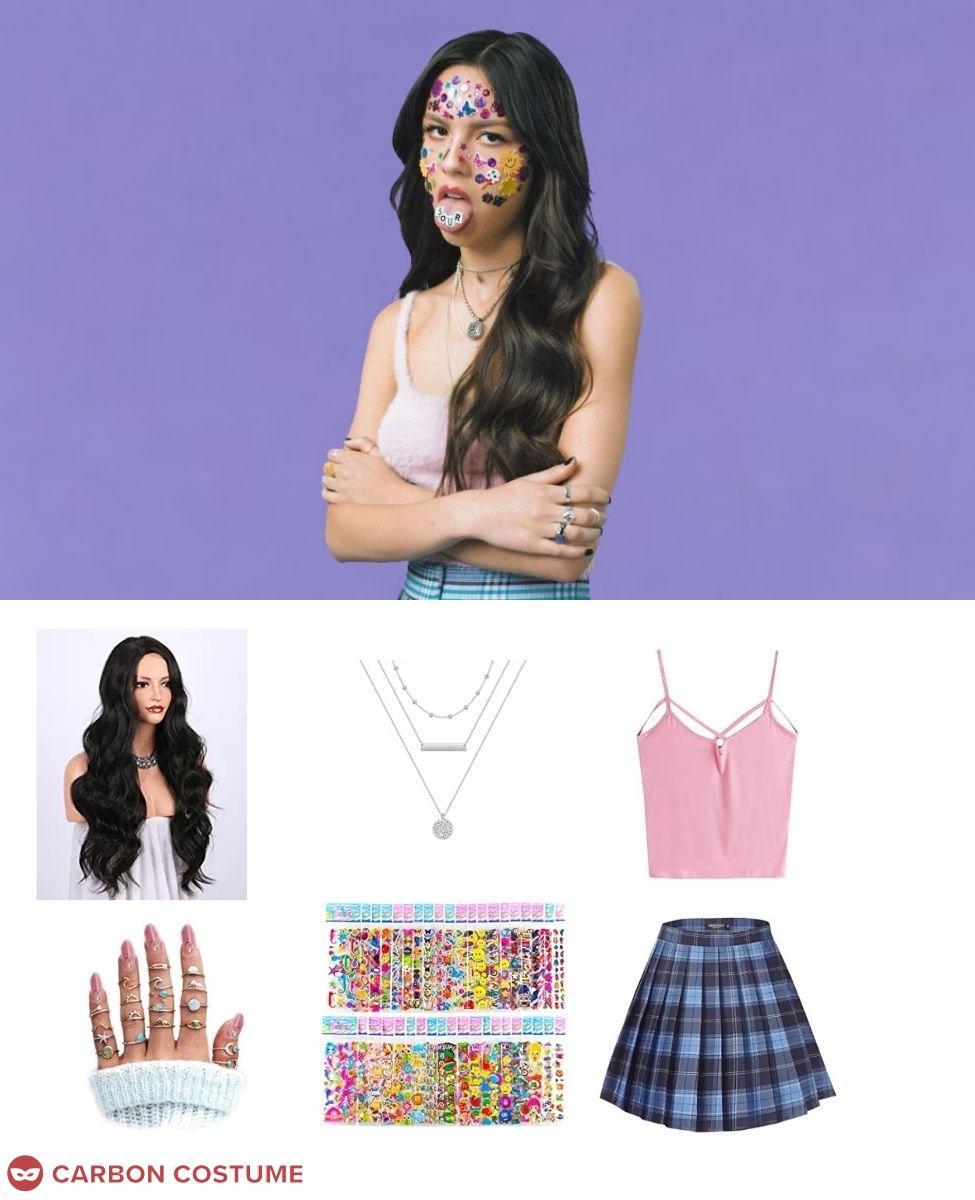Olivia Rodrigo in Sour Cosplay Guide