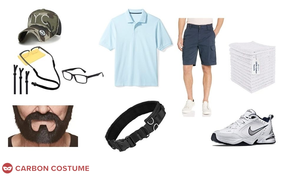 Piragua Guy from In The Heights Costume
