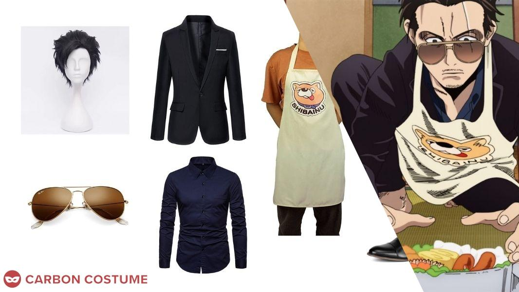 Tatsu from The Way of the Househusband Cosplay Tutorial