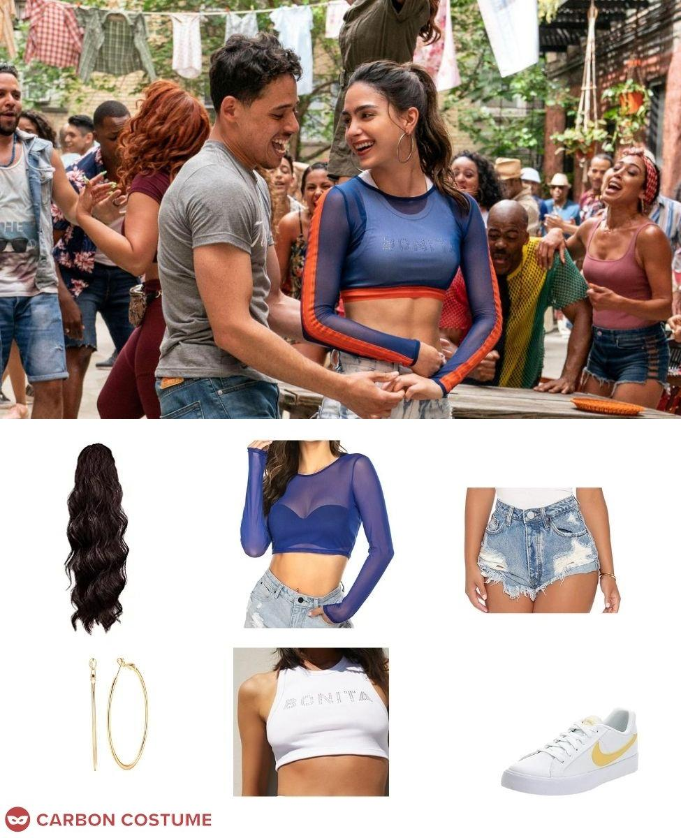 Vanessa Morales from In The Heights Cosplay Guide