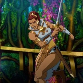 Teela from Masters of the Universe: Revelation