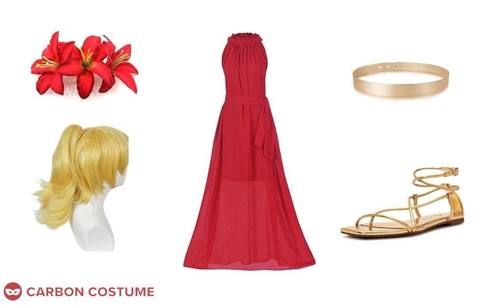 Adora at Princess Prom Costume