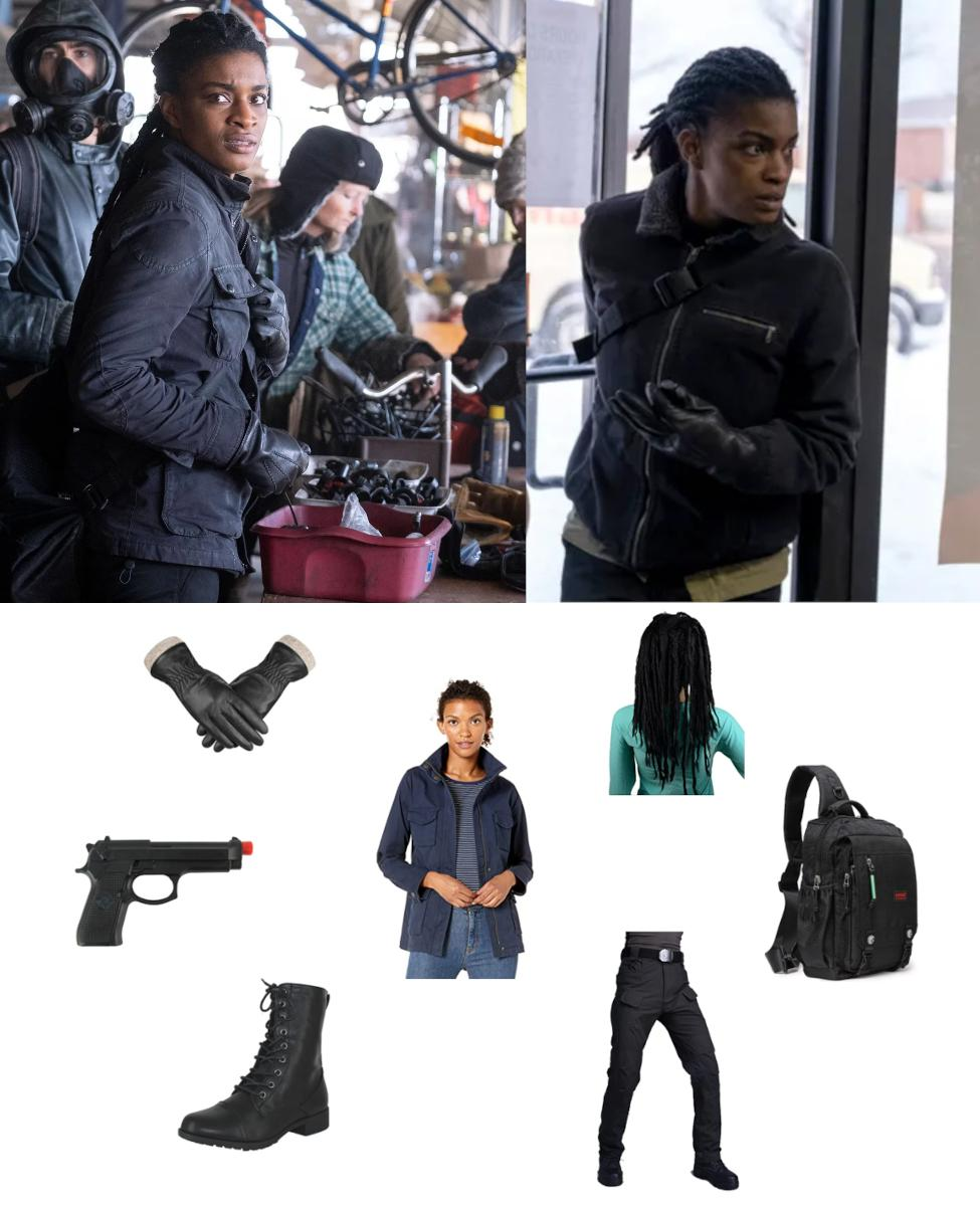 Agent 355 from Y: The Last Man Cosplay Guide