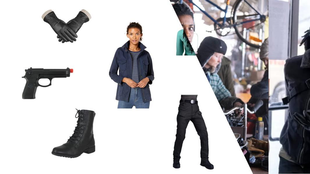 Agent 355 from Y: The Last Man Cosplay Tutorial