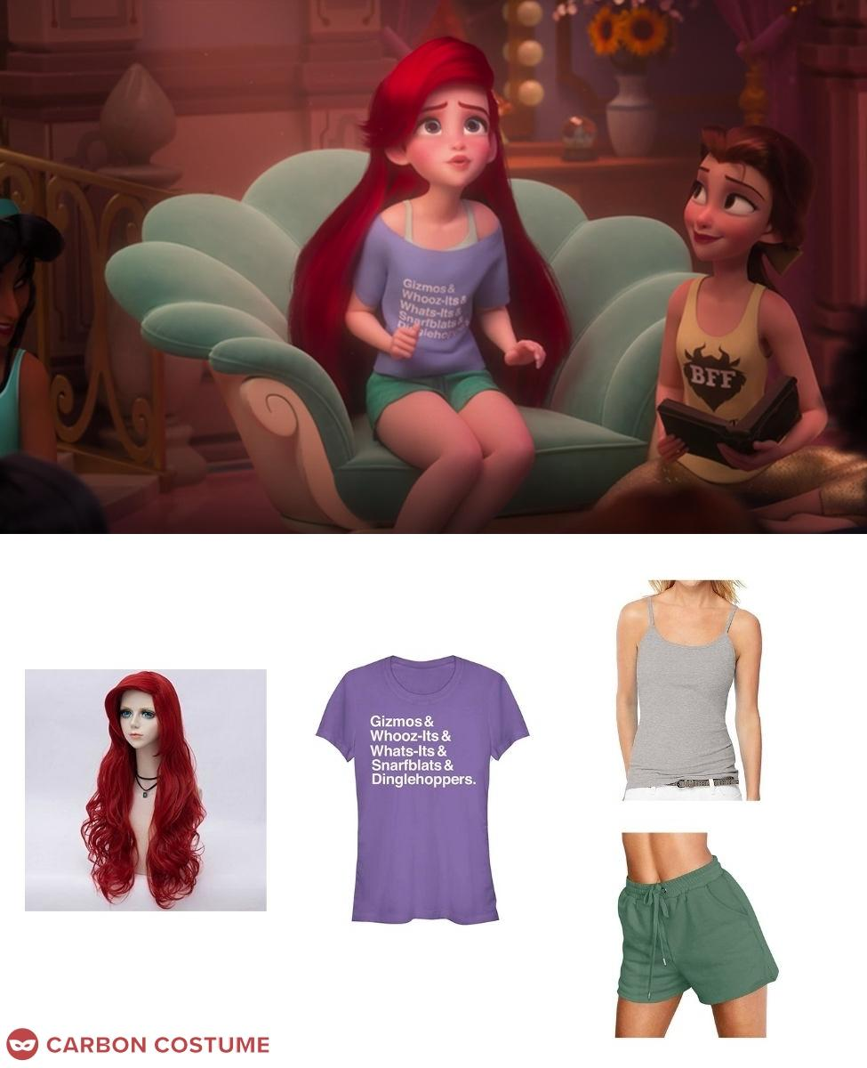 Ariel from Wreck-It Ralph 2 Cosplay Guide