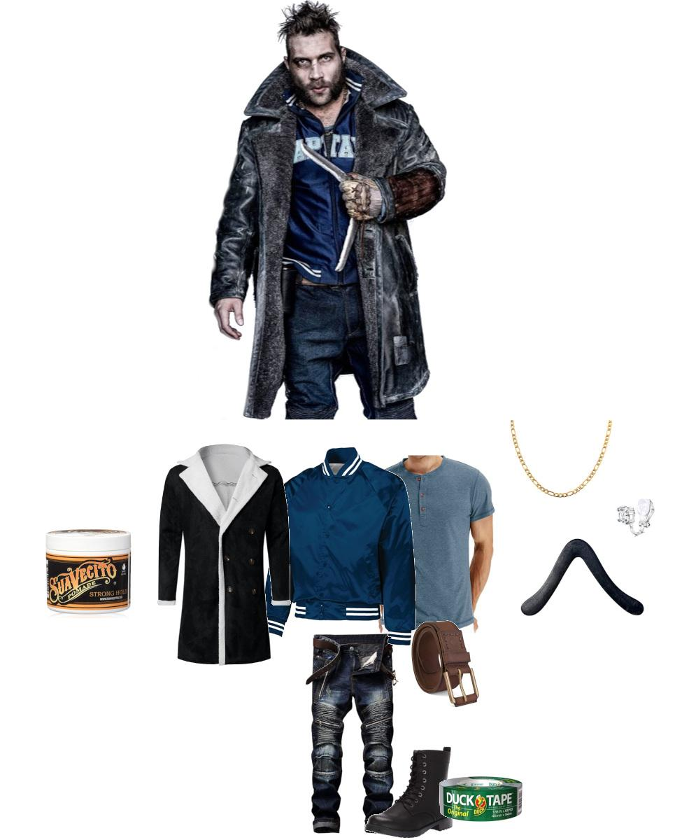 Captain Boomerang from The Suicide Squad Cosplay Guide