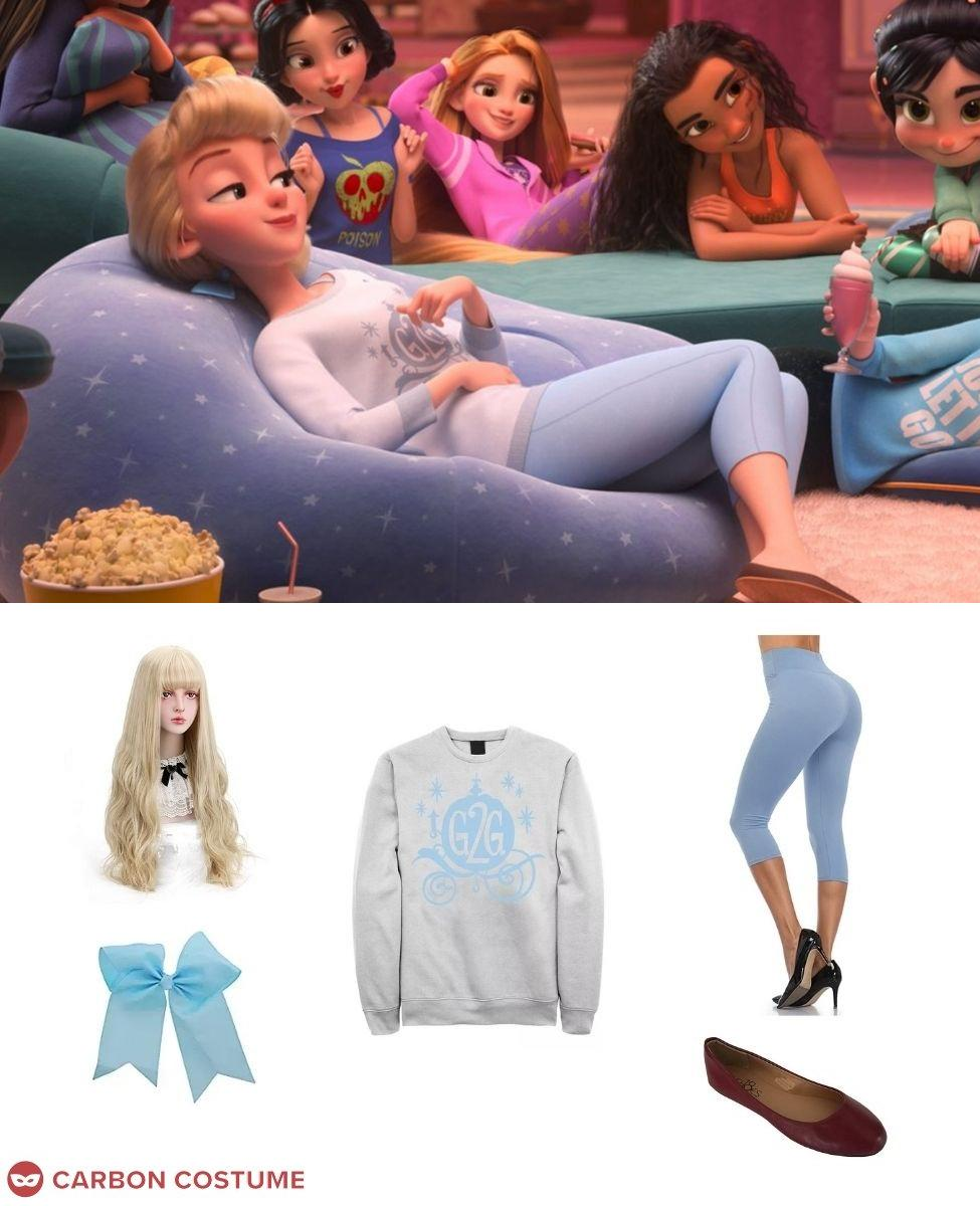 Cinderella from Wreck-It Ralph 2 Cosplay Guide