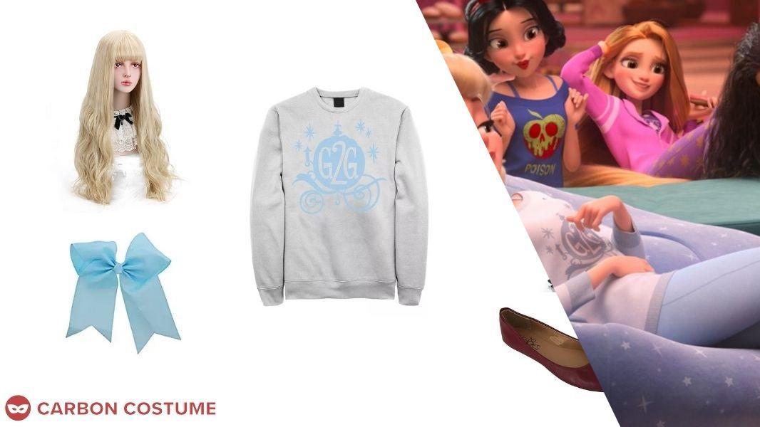 Cinderella from Wreck-It Ralph 2 Cosplay Tutorial