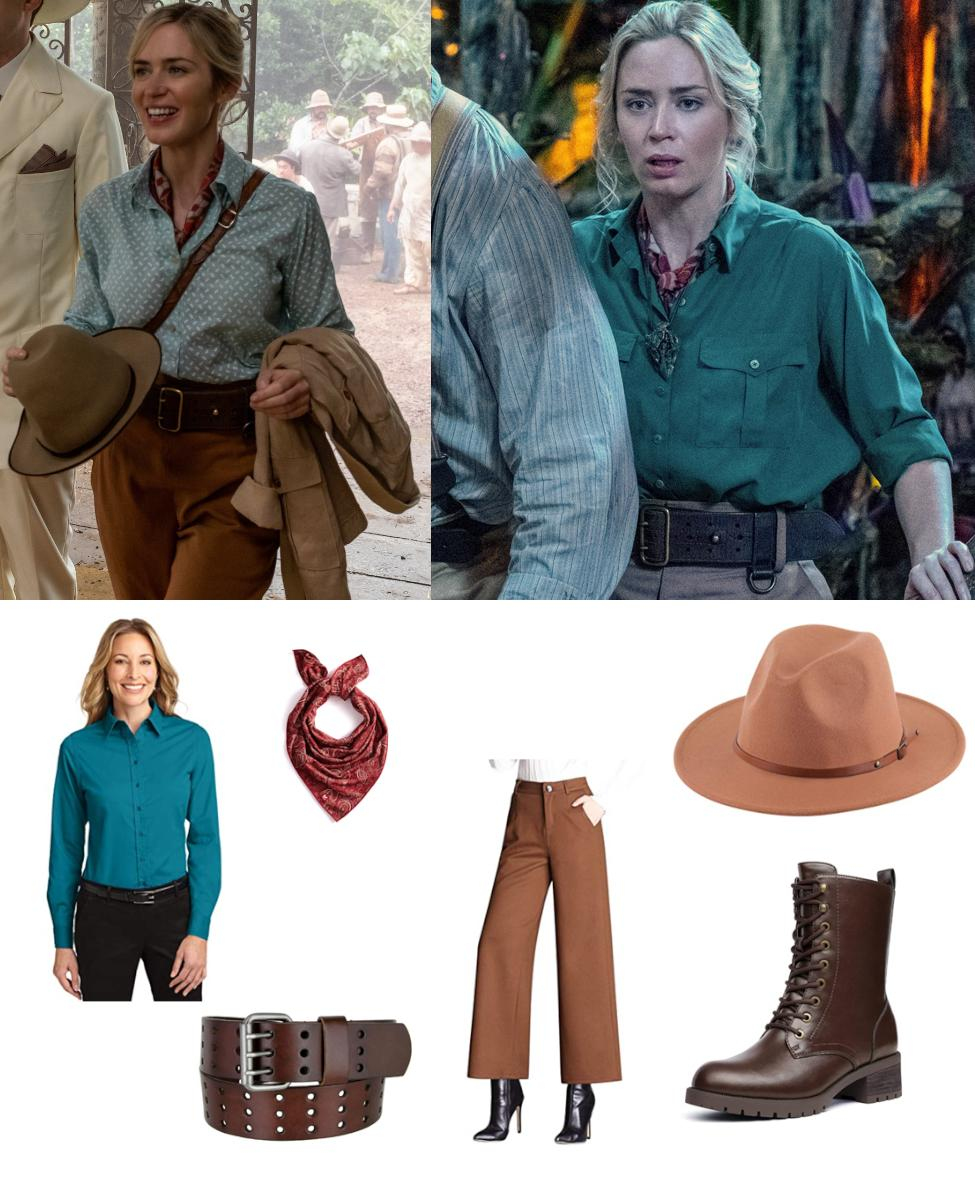 Dr. Lily Houghton from Jungle Cruise Cosplay Guide