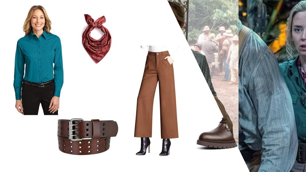 Dr. Lily Houghton from Jungle Cruise Cosplay Tutorial