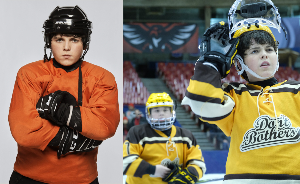 Evan Morrow from The Mighty Ducks: Game Changers