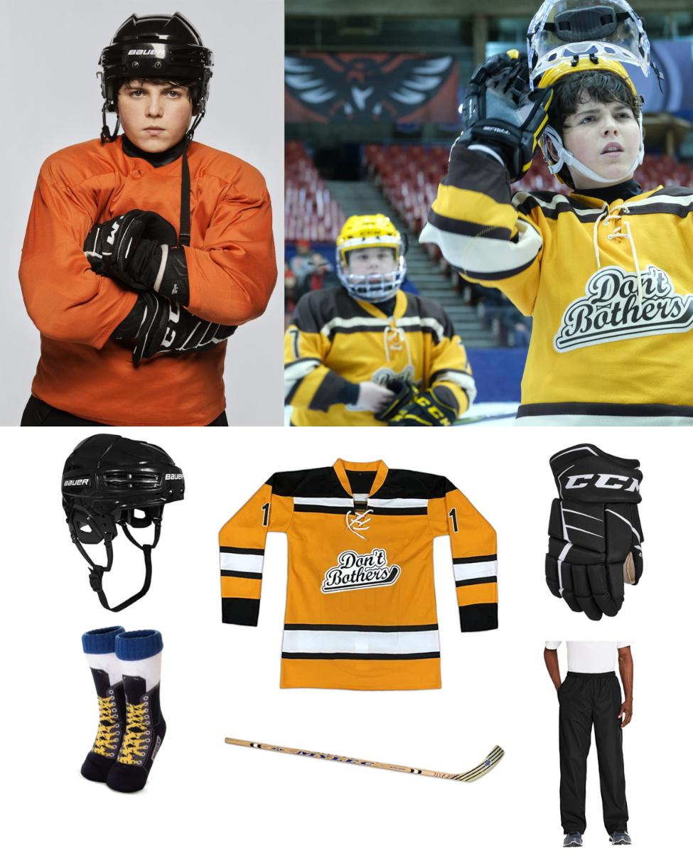 Evan Morrow from The Mighty Ducks: Game Changers Cosplay Guide