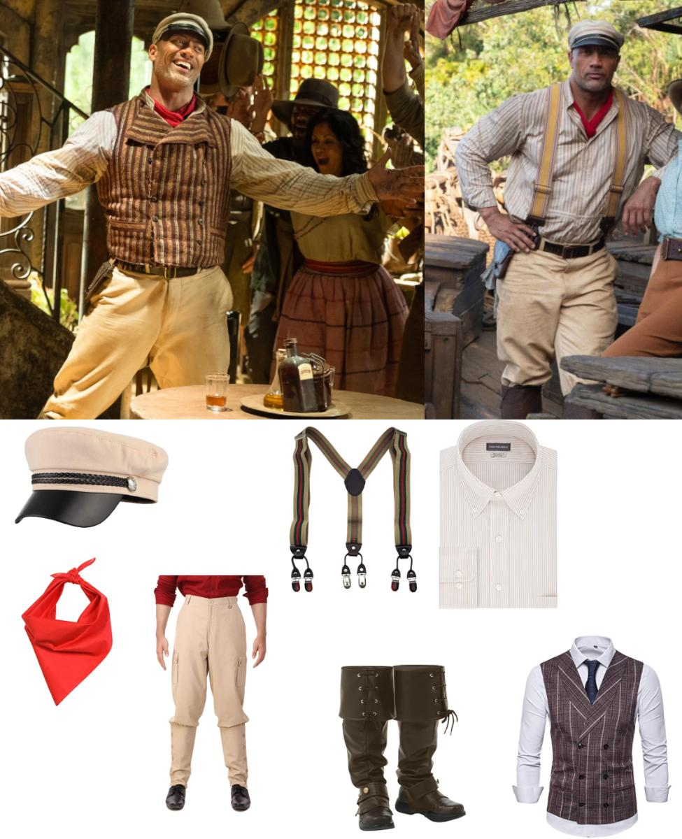 Frank Wolff from Jungle Cruise Cosplay Guide